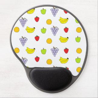 Modelo de las frutas alfombrilla gel