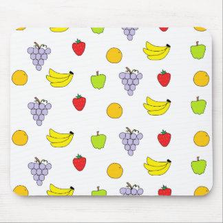 Modelo de las frutas alfombrilla de ratón