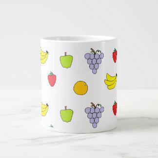 Modelo de las frutas taza grande