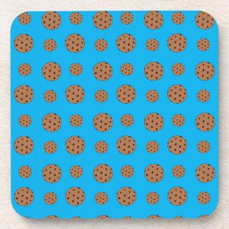 Modelo de las galletas de microprocesador de choco posavasos