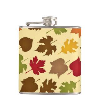 Modelo de las hojas de otoño del color de la caída