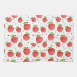 Modelo de las manzanas toallas de mano