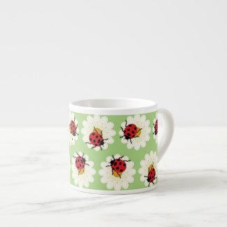 Modelo de las mariquitas taza de espresso
