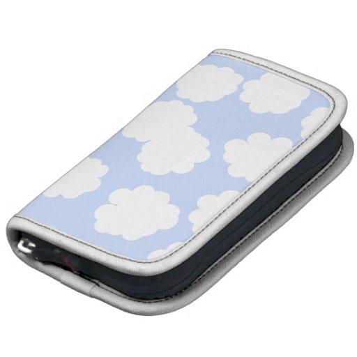 Modelo de las nubes del blanco y del azul de cielo planificador