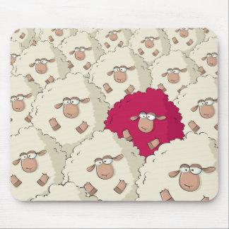 Modelo de las ovejas alfombrilla de ratón