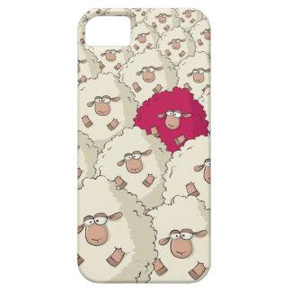 Modelo de las ovejas iPhone 5 carcasa