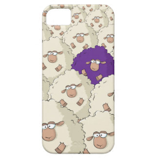 Modelo de las ovejas iPhone 5 Case-Mate cárcasa