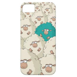 Modelo de las ovejas iPhone 5 fundas