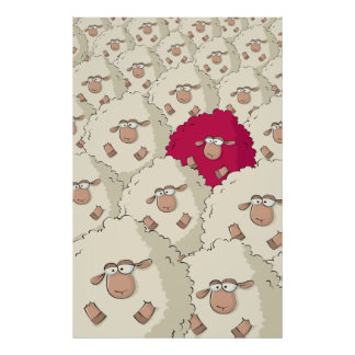 Modelo de las ovejas posters