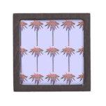 Modelo de las palmeras cajas de joyas de calidad