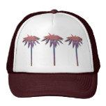 Modelo de las palmeras gorras