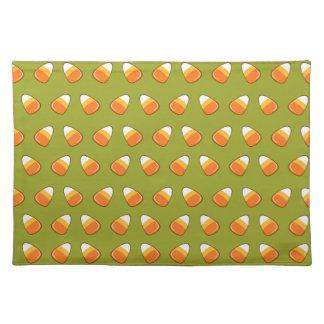Modelo de las pastillas de caramelo mantel individual