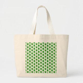 Modelo de las pimientas verdes bolsas de mano