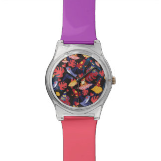 Modelo de las ranas de los amantes relojes de mano