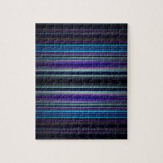 Modelo de las rayas azules puzzles con fotos