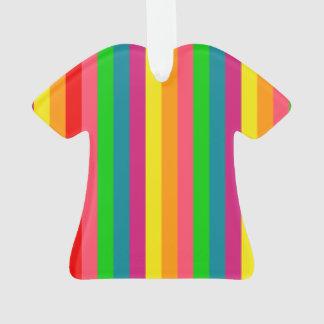 Modelo de las rayas verticales del arco iris del m