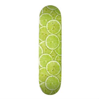 Modelo de las rebanadas verdes de la cal monopatines personalizados