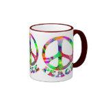 Modelo de las tazas de la paz