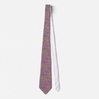 Modelo de las tejas de mosaico de las rosas corbatas personalizadas
