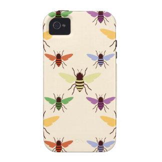 Modelo de los abejorros de las abejas del arco iri