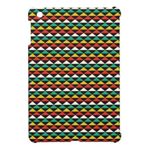 Modelo de los Andes del galón geométrico tribal mo iPad Mini Coberturas