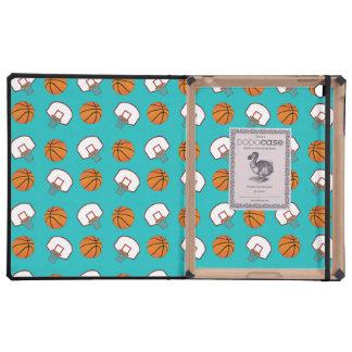 Modelo de los baloncestos y de las redes de la tur iPad cobertura