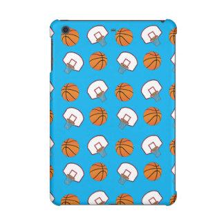 Modelo de los baloncestos y de las redes del azul