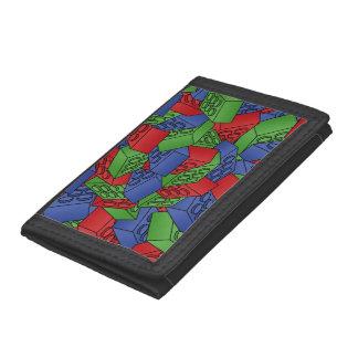 Modelo de los bloques huecos de los colores primar