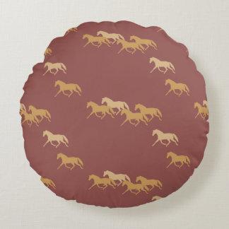 Modelo de los caballos que trotan de Borgoña y del Cojín Redondo