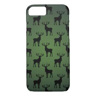 Modelo de los ciervos del dólar en verde funda iPhone 7