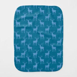 Modelo de los ciervos del macho en azul paños de bebé