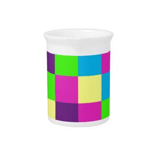 Modelo de los cuadrados jarras para bebida