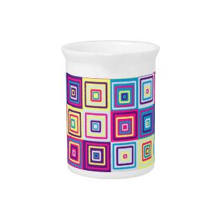 Modelo de los cuadrados jarrón