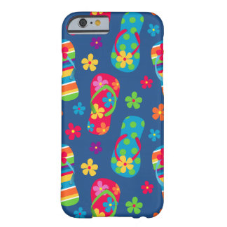 Modelo de los flips-flopes funda para iPhone 6 barely there
