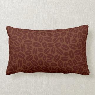 Modelo de los granos de café almohadas