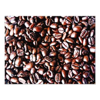 Modelo de los granos de café - carne asada oscura fotografía