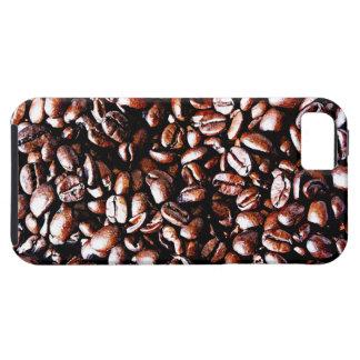 Modelo de los granos de café - carne asada oscura iPhone 5 Case-Mate funda