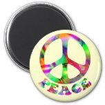 Modelo de los imanes de la paz imán de frigorifico