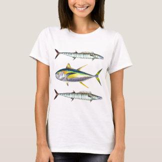 modelo de los pescados de la trucha salmonada y playera