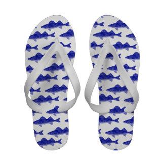Modelo de los pescados de los leucomas azules