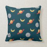 modelo de los planetas del espacio exterior del di almohada