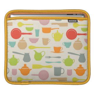 Modelo de los platos mangas de iPad