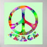 Modelo de los posters de la paz