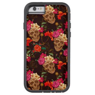 Modelo de los rosas de n de los cráneos ' funda tough xtreme iPhone 6