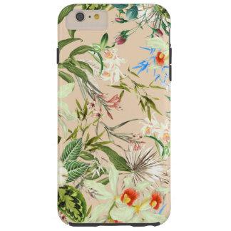 Modelo de los Wildflowers del vintage Funda Resistente iPhone 6 Plus