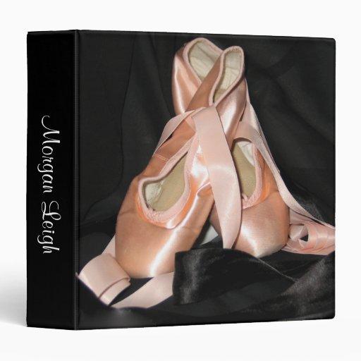 """Modelo de los zapatos de ballet carpeta 1 1/2"""""""