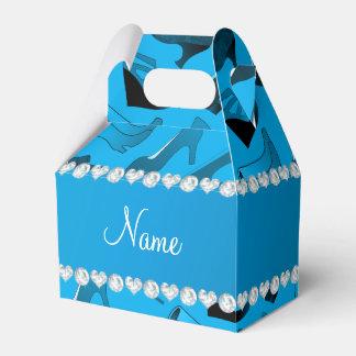 Modelo de los zapatos de cielo de las mujeres caja para regalo de boda