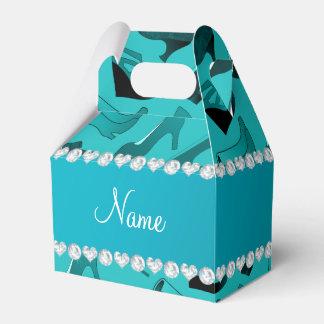 Modelo de los zapatos de las mujeres conocidas cajas para regalos de boda