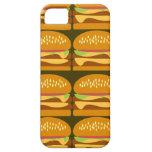 Modelo de lujo del cheeseburger del cheeseburger iPhone 5 Case-Mate cobertura