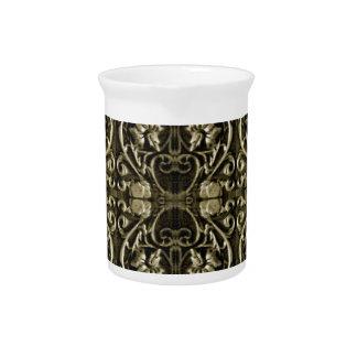 Modelo de lujo ornamental jarra
